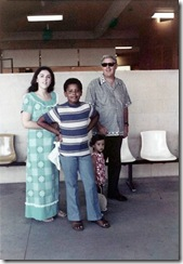 Barack mother sister grandfather