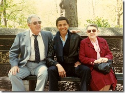 Barack Obama and grandparents