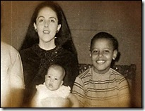 Barack Obama mother and sister